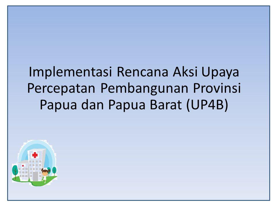 Implementasi Rencana Aksi Upaya Percepatan Pembangunan Provinsi Papua dan Papua Barat (UP4B)