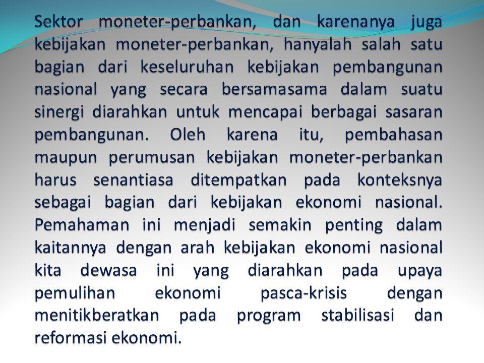 Pembangunan ekonomi yang telah berlangsung cukup lama di Indonesia menuntut berbagai prasyarat untuk mencapai keberhasilannya. Salah satunya adalah ke