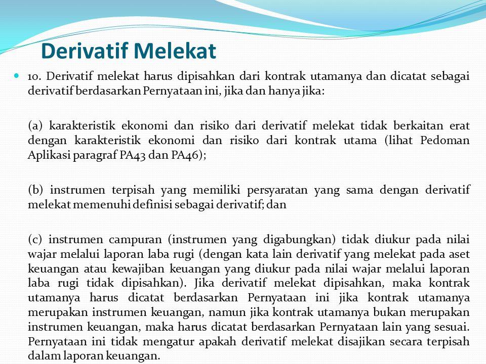 Derivatif Melekat 10.