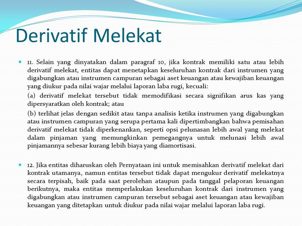 Derivatif Melekat 11.