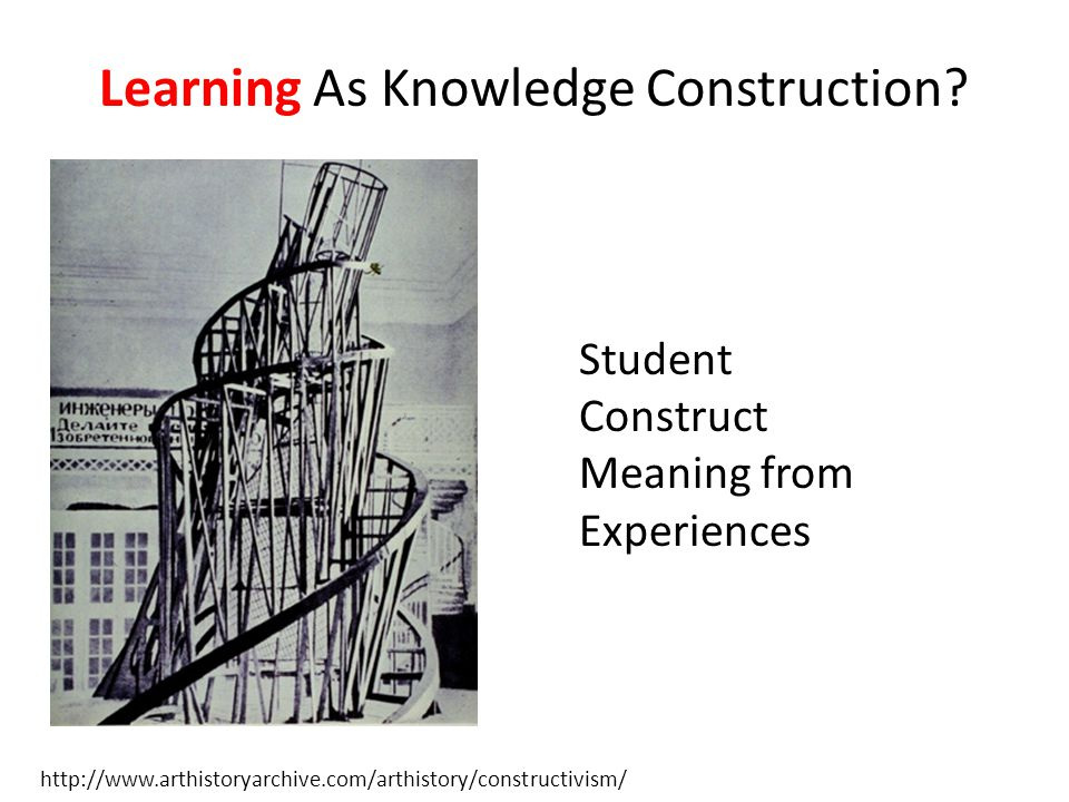 THE ONE WHO DOES THE WORK DOES THE LEARNING T.