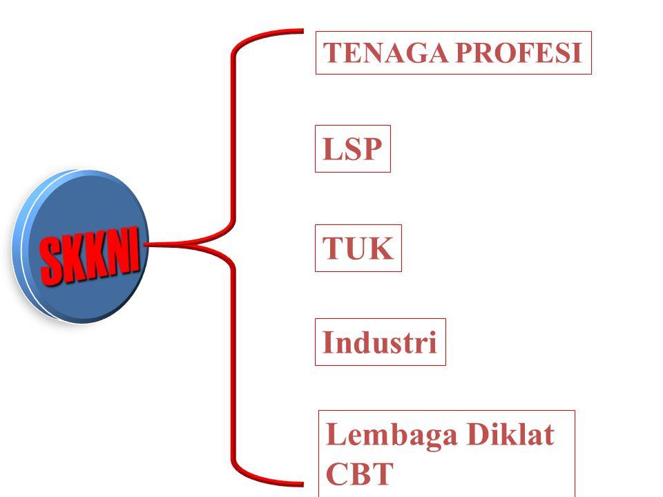 TENAGA PROFESI LSP Industri TUK Lembaga Diklat CBT