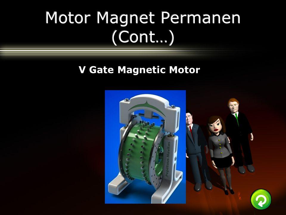 V Gate Magnetic Motor