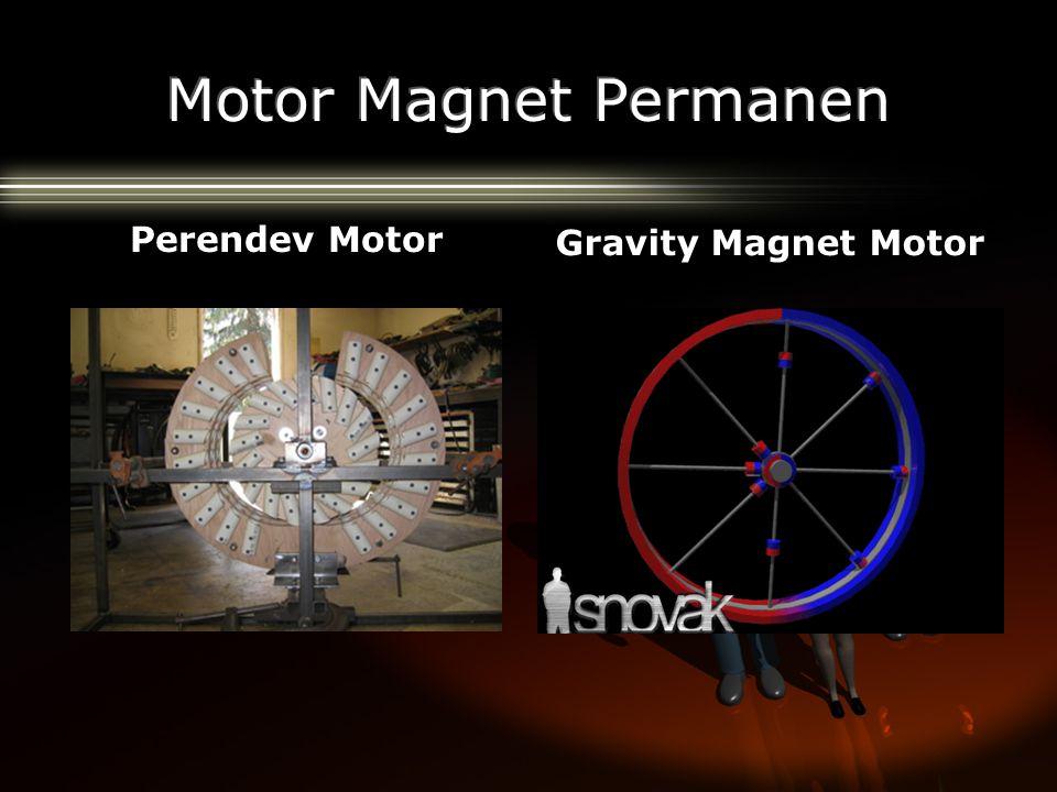 Perendev Motor Gravity Magnet Motor