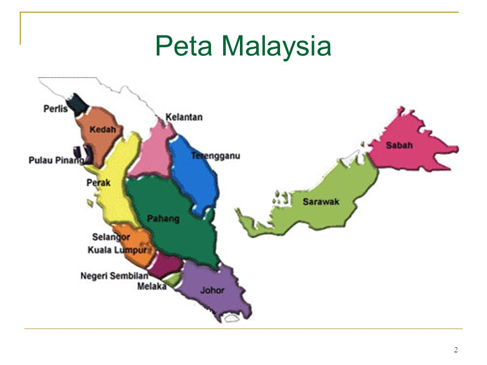 3 Daftar Isi : Peta Negara Malaysia Daftar Isi Kata Pengantar4 I.Pendahuluan6 II.Potensi Pasar Negara Malaysia a.