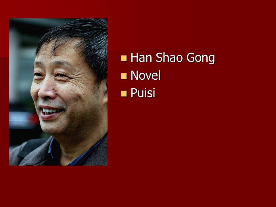 Han Shao Gong Han Shao Gong Novel Novel Puisi Puisi