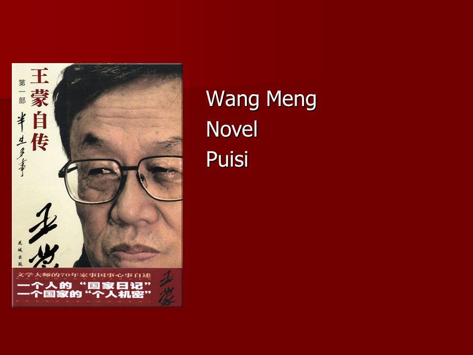 Wang Meng NovelPuisi