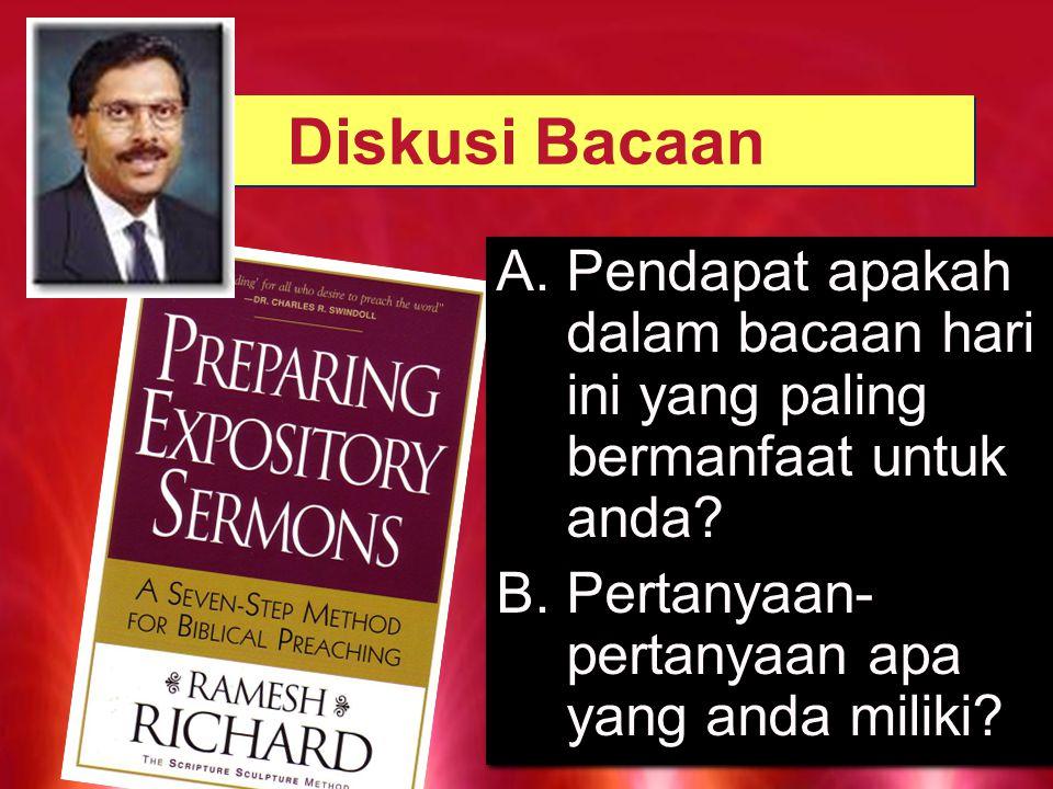 Sermon Block PENDETA DENGAN KESULITAN BERKHOTBAH