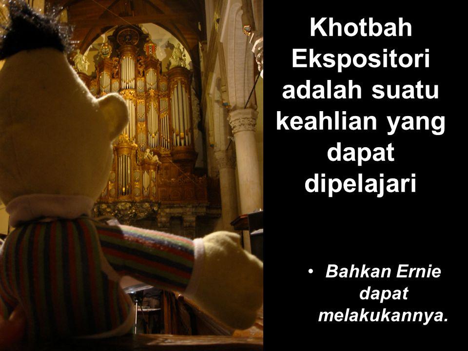 Desert Sermon Anda di sini KHOTBAH