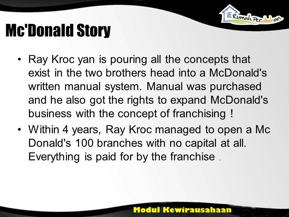Dan Apakah yang membuat usaha Dik & Mor stagnant.apa yang membuat Ray Korc berhasil.