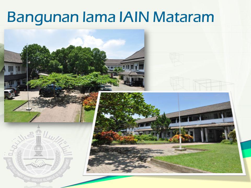 Bangunan lama IAIN Mataram