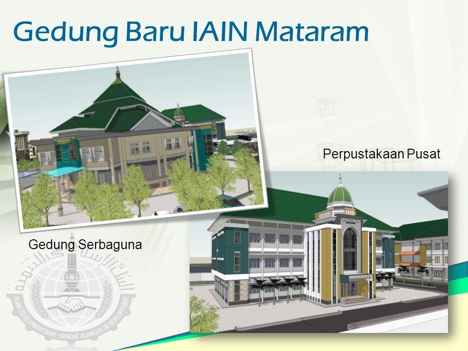 Gedung Baru IAIN Mataram Gedung Serbaguna Perpustakaan Pusat