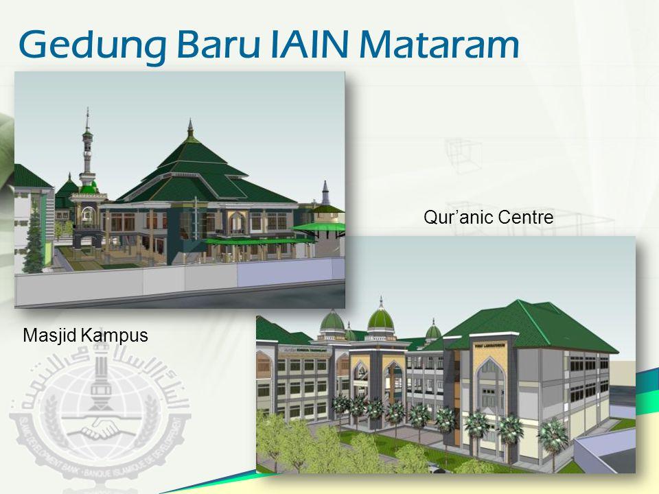 Gedung Baru IAIN Mataram Qur'anic Centre Masjid Kampus