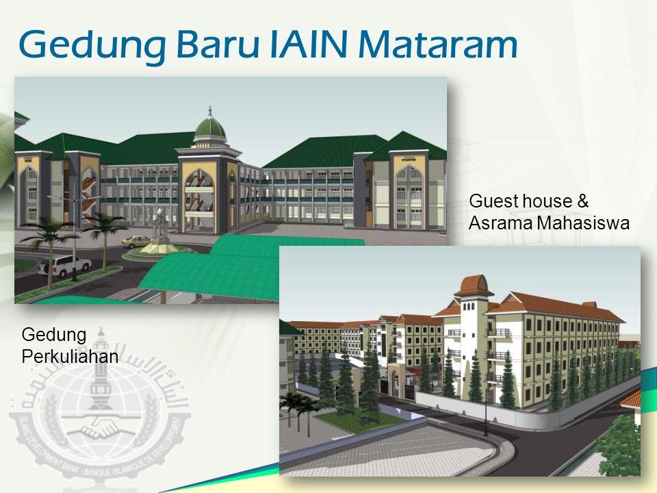 Gedung Baru IAIN Mataram Guest house & Asrama Mahasiswa Gedung Perkuliahan