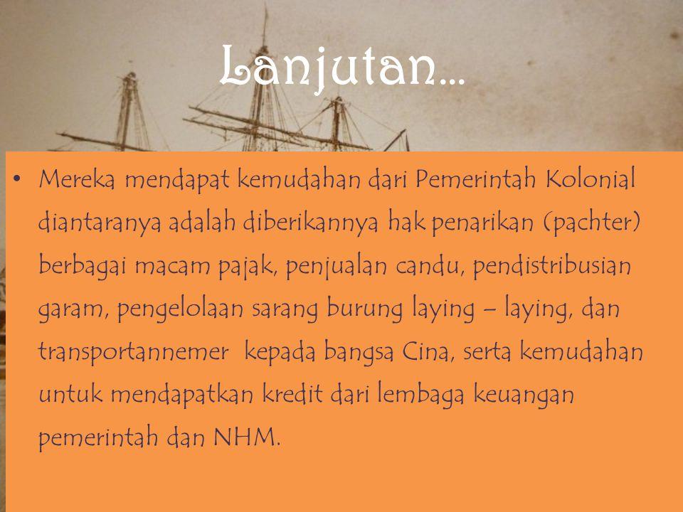 Saudagar Pribumi saudagar pribumi, yang termasuk dalam kelompok ini adalah saudagar Melayu (terutama Minangkabau), Aceh, Batak, Jawa dan Bugis.