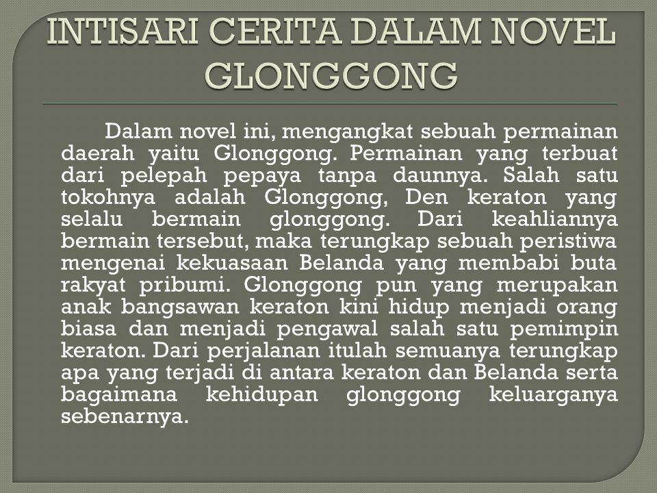 Dalam novel ini menceritakan mengenai kondisi Indonesia di zaman penjajahan.