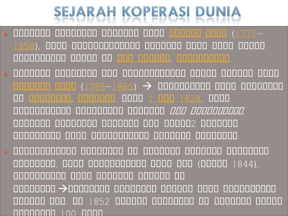 Prinsip Koperasi di Indonesia (UU No.25 tahun 1992) 1) Keanggotaan bersifat sukarela dan terbuka 2) Pengelolaan dilakukan secara demokrasi 3) Pembagian SHU dilakukan secara adil sesuai dengan jasa usaha masing-masing anggota 4) Pemberian balas jasa yang terbatas terhadap modal 5) Kemandirian 6) Pendidikan perkoperasian 7) Kerjasama antar koperasi