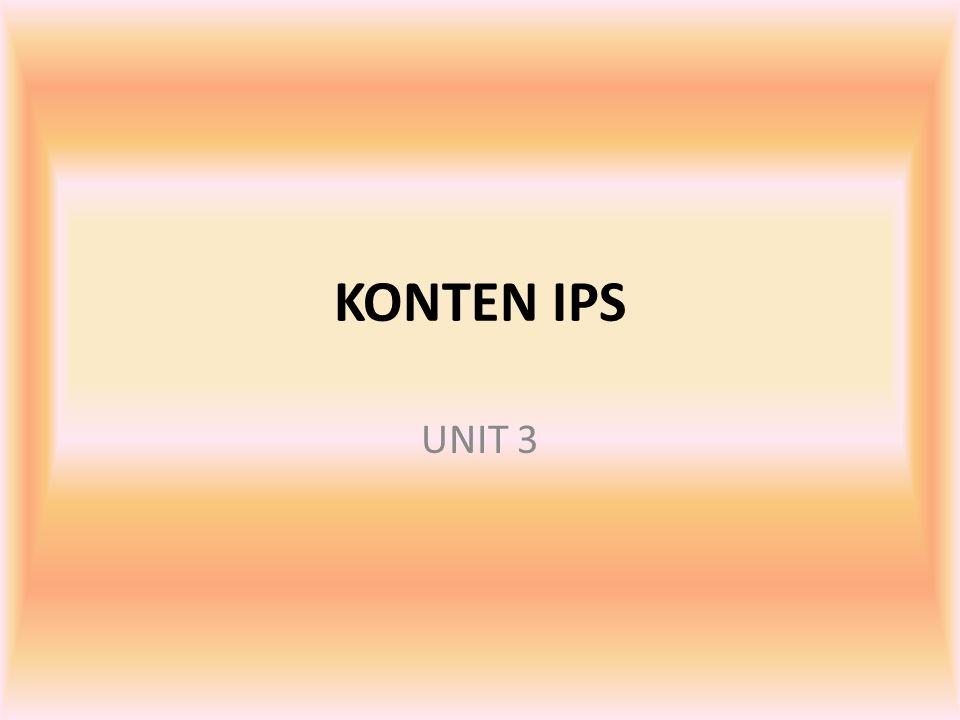 KONTEN IPS UNIT 3
