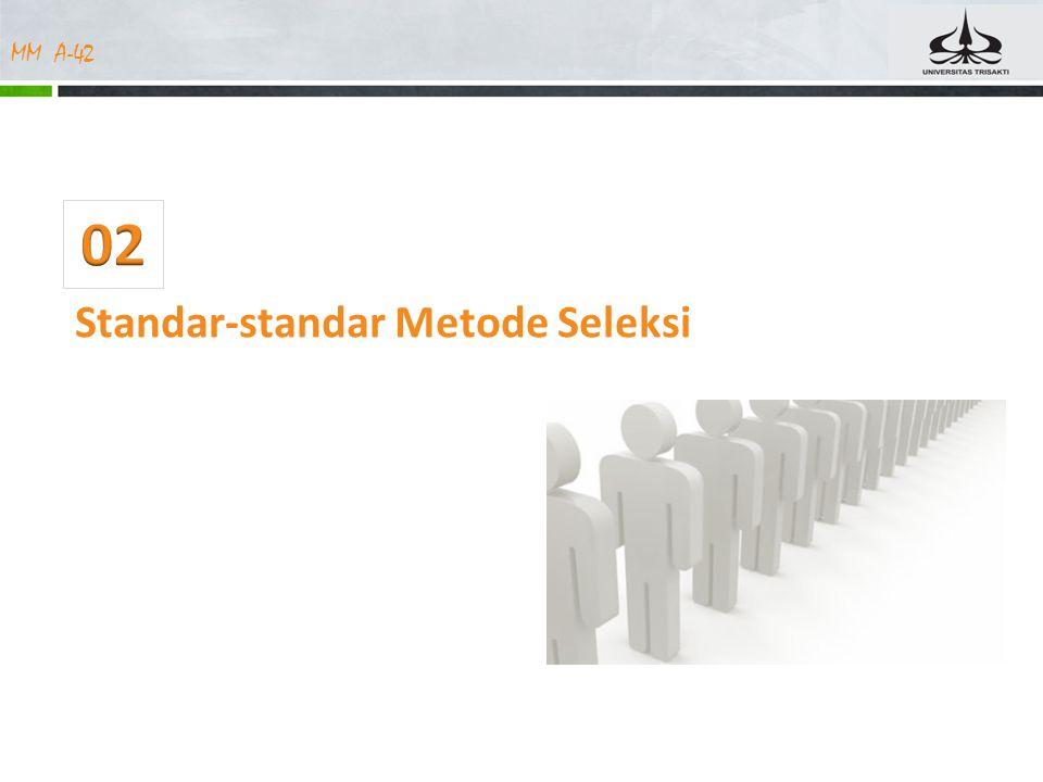 MM A-42 Standar-standar Metode Seleksi