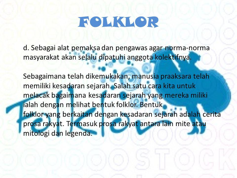 FOLKLOR d.