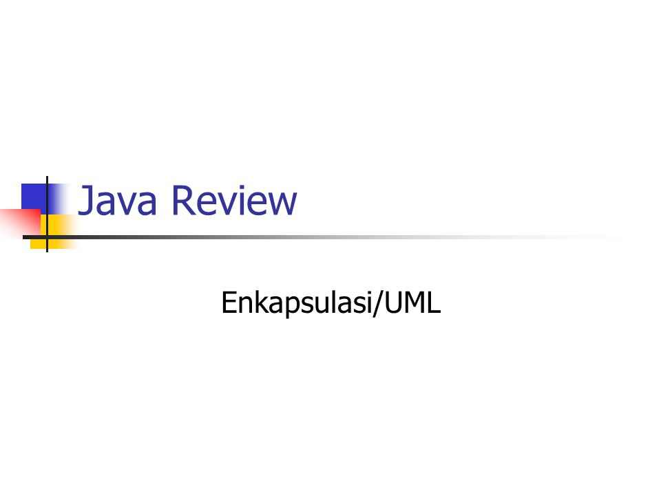 Java Review GUI