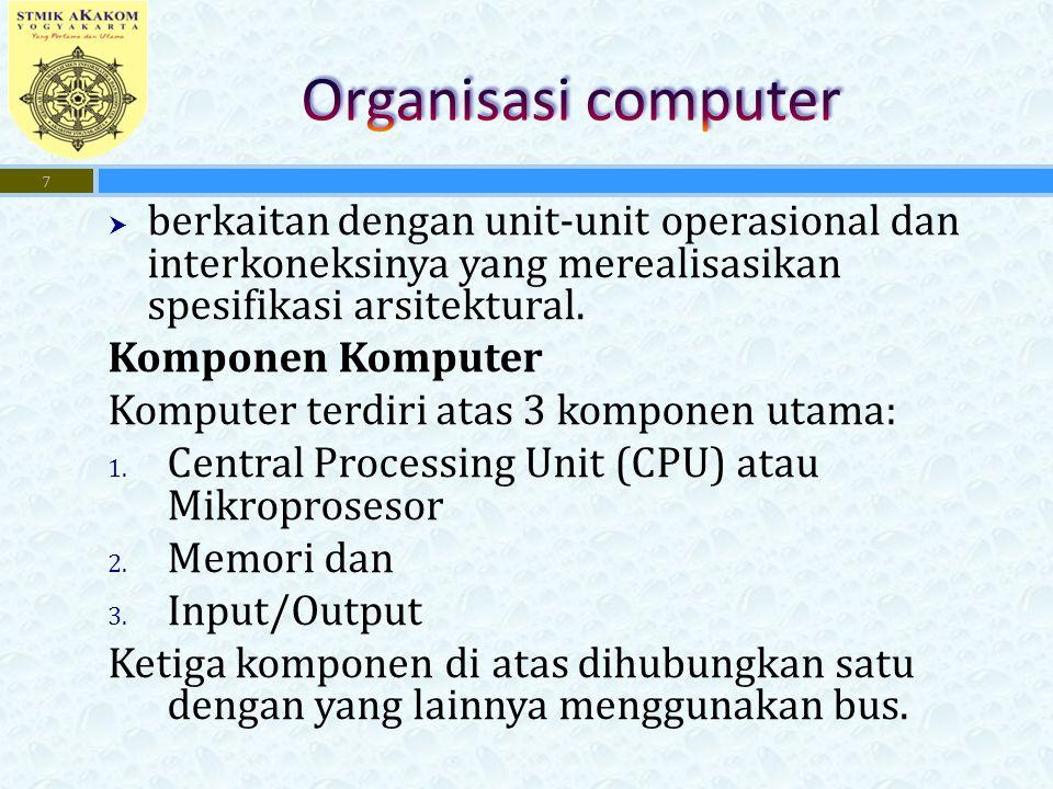 18 Struktur Bus Hirarki Dari : Computer Organization & Architectur Designing For Performance : By William Stallings