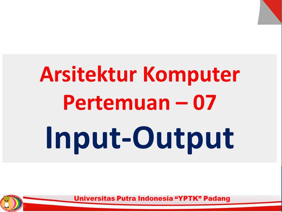 Input - Output 2.