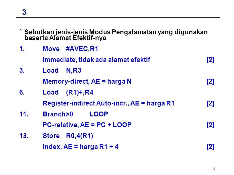 5 4: Program I/O MOV#LOC,R01 KEYIN: InSREG,R12 TestBit#1,R12 Branch=0KEYIN2 InDREG,R12 CallASCIITOBINARY ; Char.