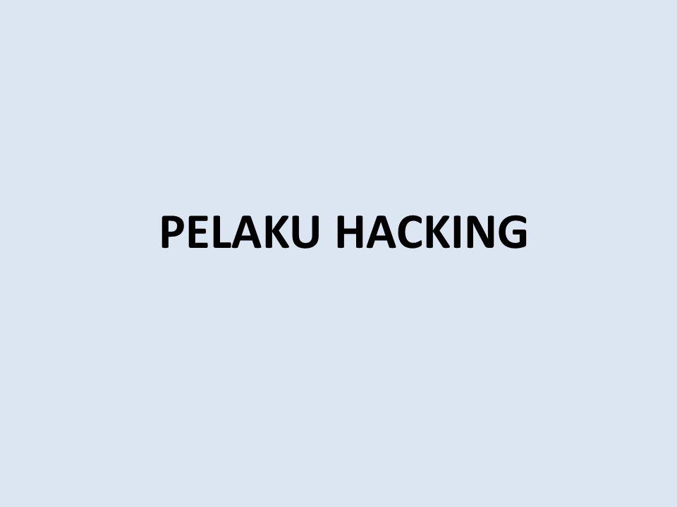 PELAKU HACKING