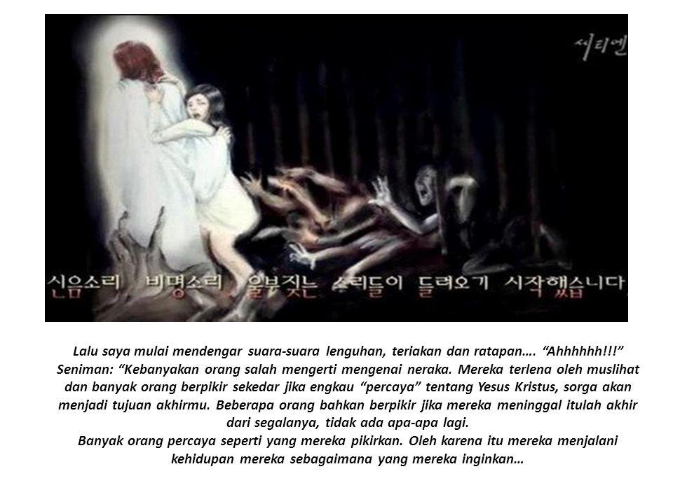 Separuh pertama dari potret ini menggambarkan setan-setan yang mempengaruhi para penganiaya (orang-orang) untuk menganiaya dan mengusik atau membunuh para pembawa pesan Injil yang benar dan sepenuhnya.
