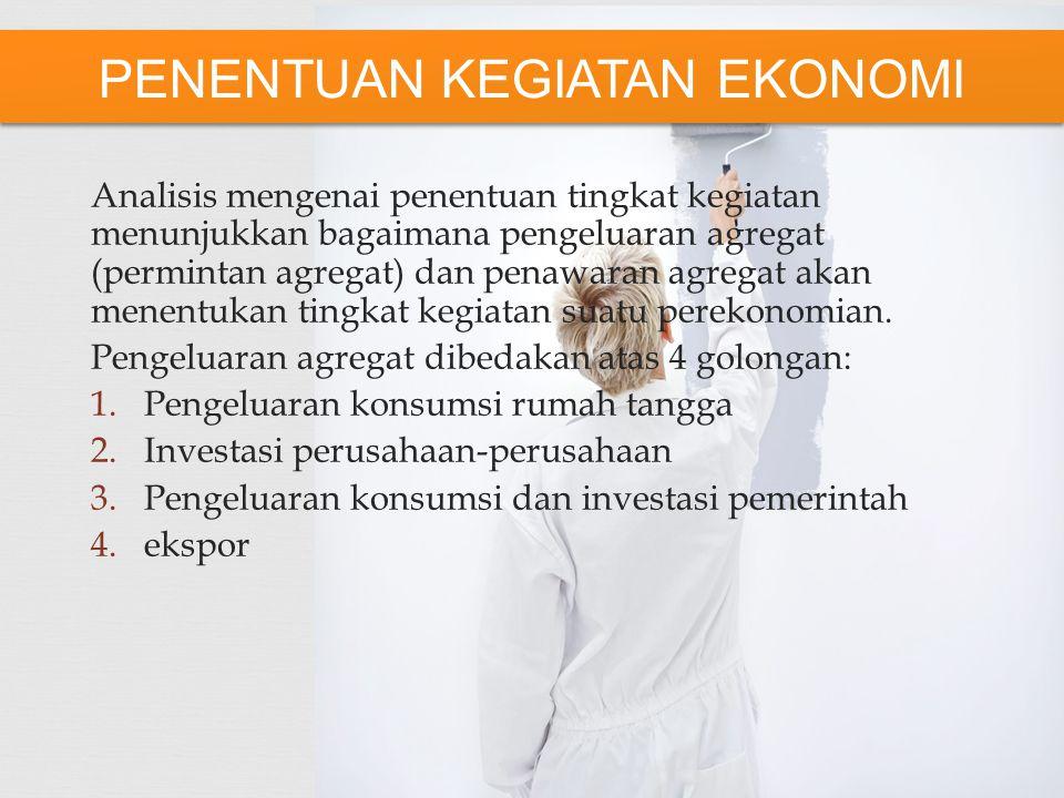1.Menstabilkan Kegiatan Ekonomi 2.Mencapai Tingkat Penggunaan Tenaga Kerja Penuh Tanpa Inflasi 3.Menciptakan Pertumbuhan Ekonomi Yang Kuat 4.Menghindari Masalah Inflasi 5.Mewujudkan kekukuhan neraca pembayaran dan kurs valuta asing TUJUAN KEBIJAKAN EKONOMI