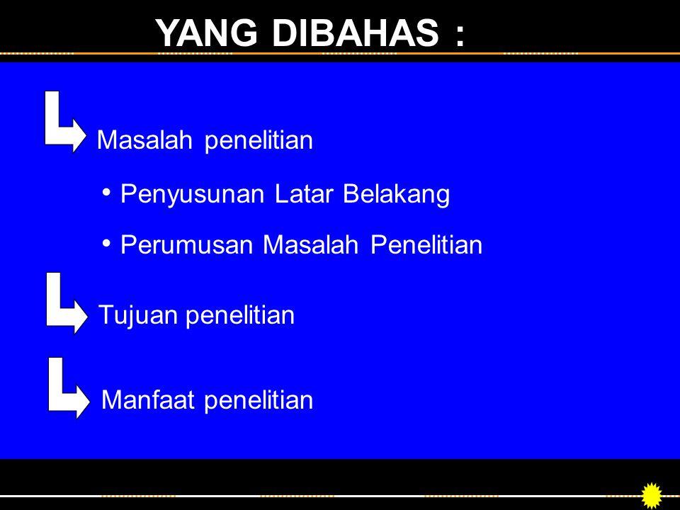 JUDUL PENELITIAN Pengembangan Sistem Informasi Akademik Berbasis Web di Universitas Multimedia Nusantara.