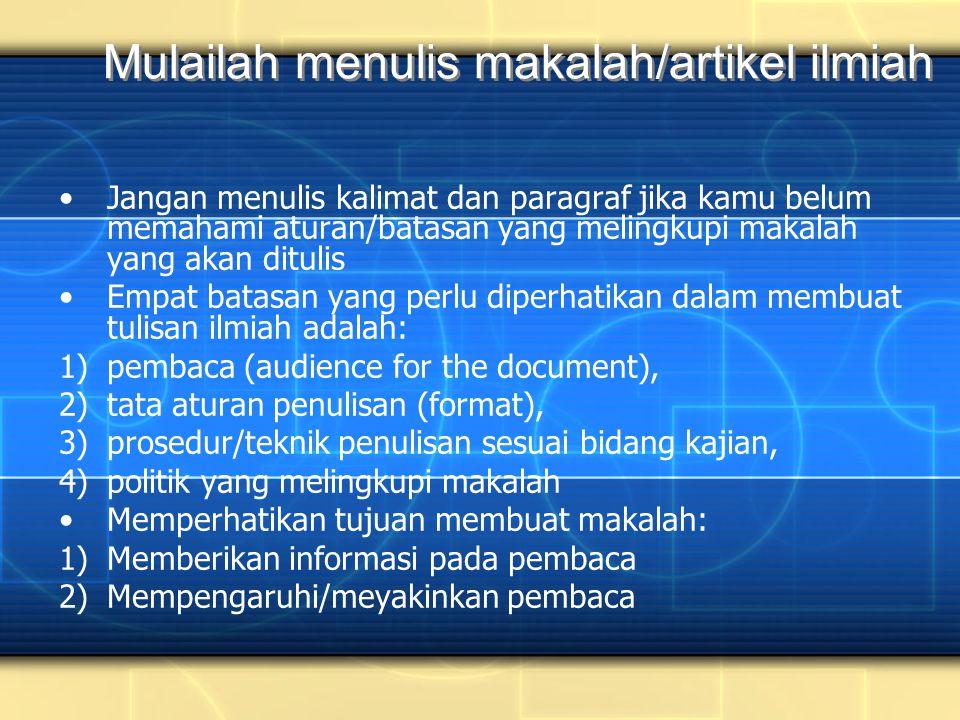 2-Apr-1516 Mengapa Perlu KAJIAN PUSTAKA .