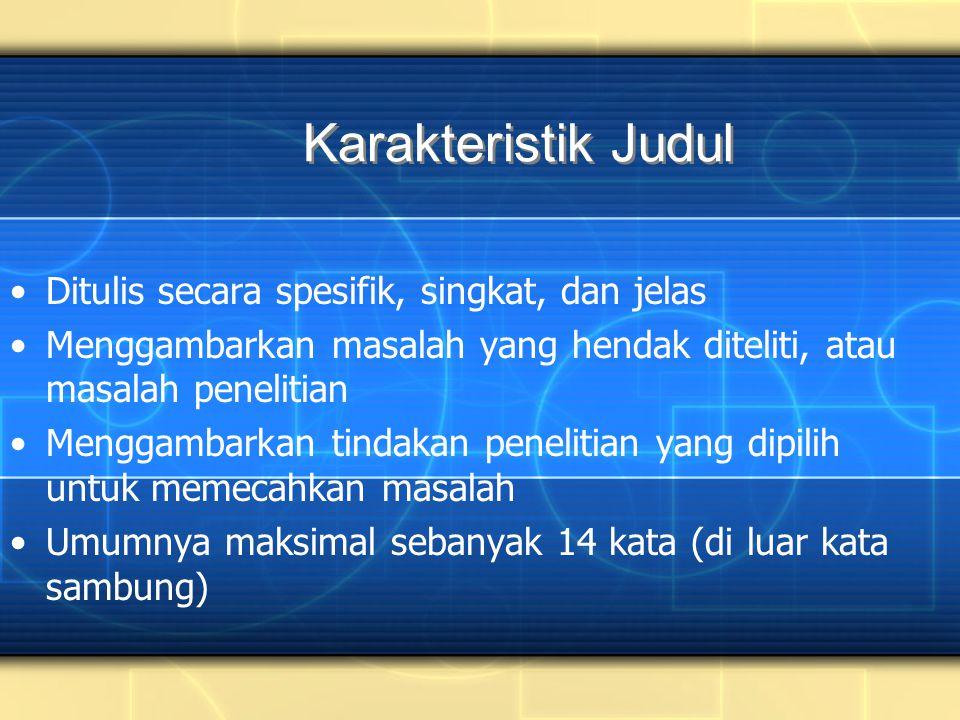 5.Artikel Koran Nama Penulis. (tahun, tanggal-bulan).