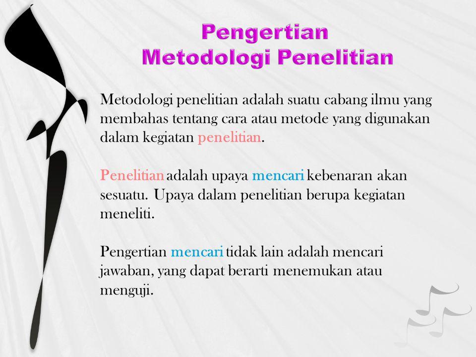 PENELITIAN ILMIAH Penelitian ilmiah adalah penelitian yang menggunakan metode ilmiah.