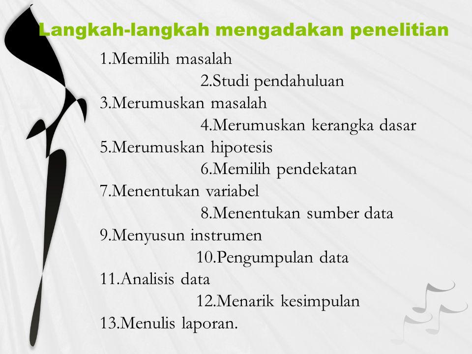 Hipotesis statistik b.