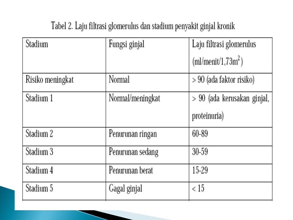 Berbagai upaya pencegahan yang telah terbukti bermanfaat dalam mencegah penyakit ginjal dan kardiovaskular adalah: a.