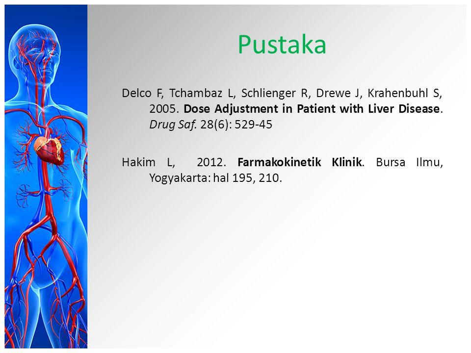 Pustaka Delco F, Tchambaz L, Schlienger R, Drewe J, Krahenbuhl S, 2005.