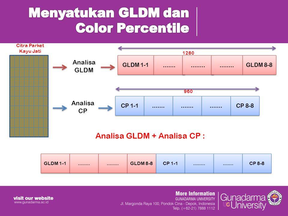Analisa GLDM GLDM 1-1...............GLDM 8-8........