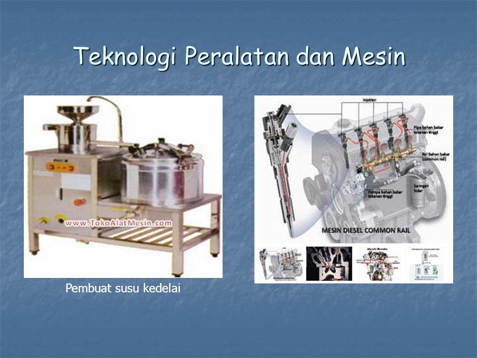 Teknologi Peralatan dan Mesin Pembuat susu kedelai