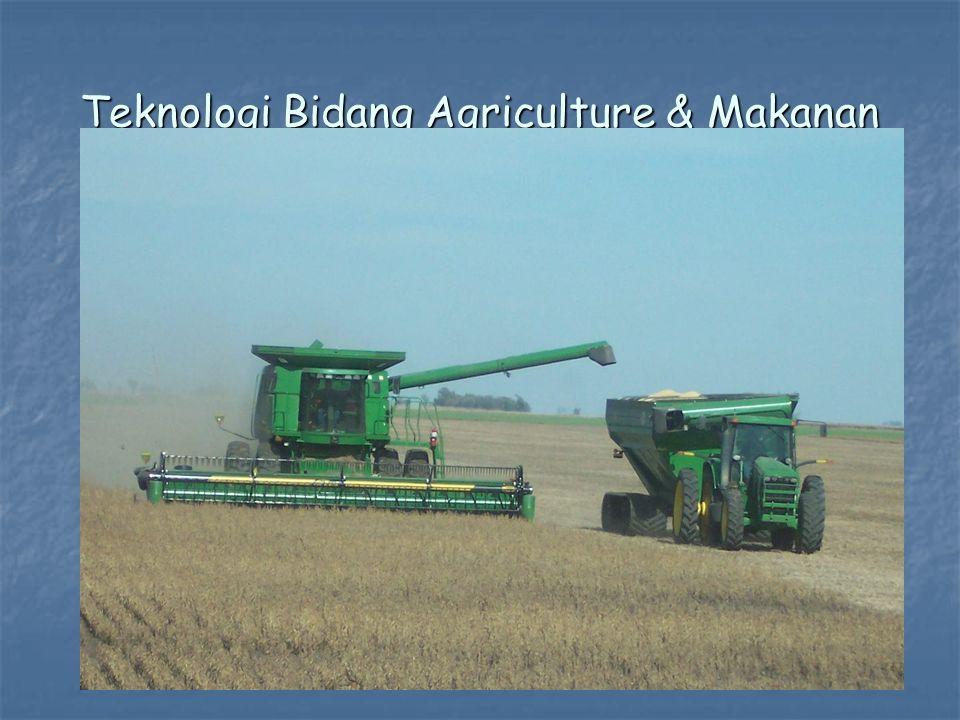 Teknologi Bidang Agriculture & Makanan