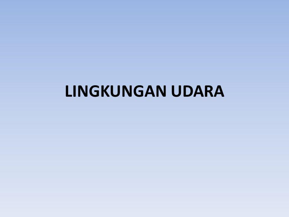 LINGKUNGAN UDARA