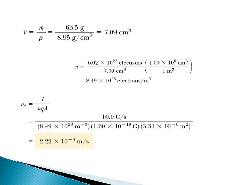  Pada bahasan listrik statik, medan listrik di dalam konduktor adalah nol pada keadaan setimbang, bila belum setimbang maka ada dalam konduktor arus.