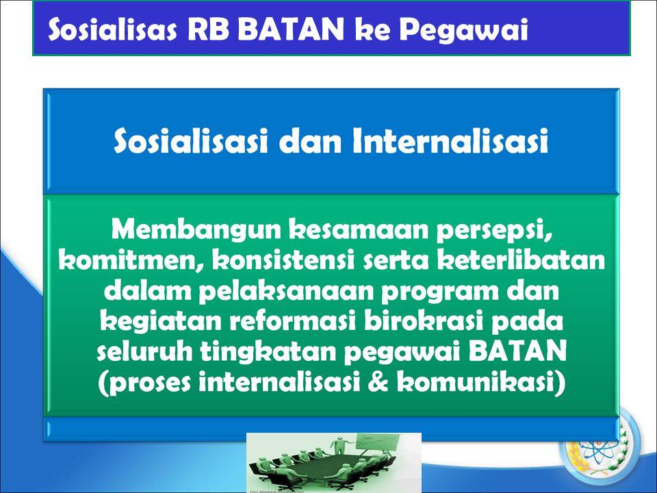 Sosialisas RB BATAN ke Pegawai