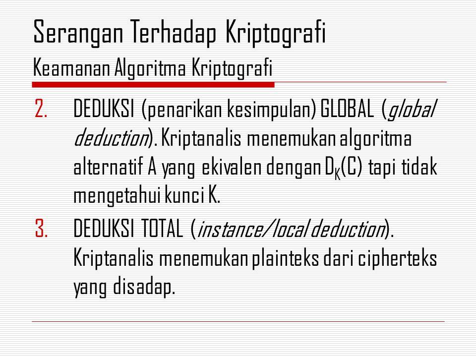 2.DEDUKSI (penarikan kesimpulan) GLOBAL (global deduction).