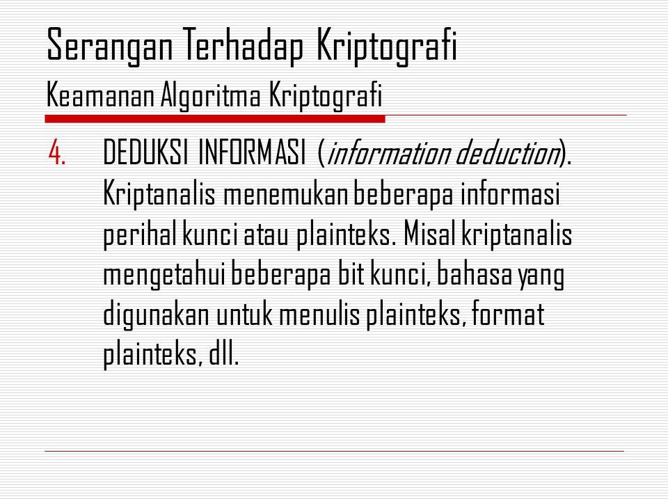 4.DEDUKSI INFORMASI (information deduction).
