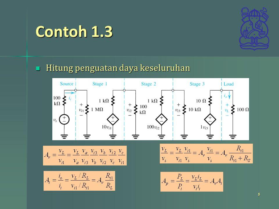Contoh 1.3 6