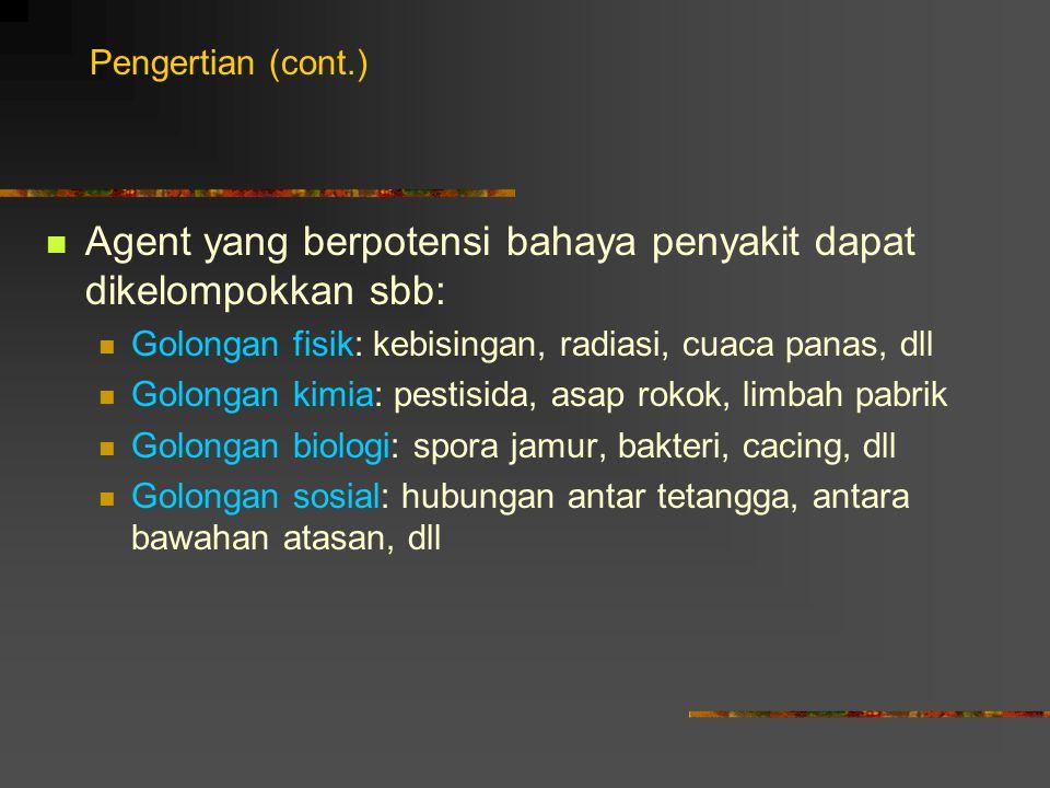 E. TEMPAT Lingkungan pemukiman Lingkungan kerja Lingkungan tempat umum Regional Global