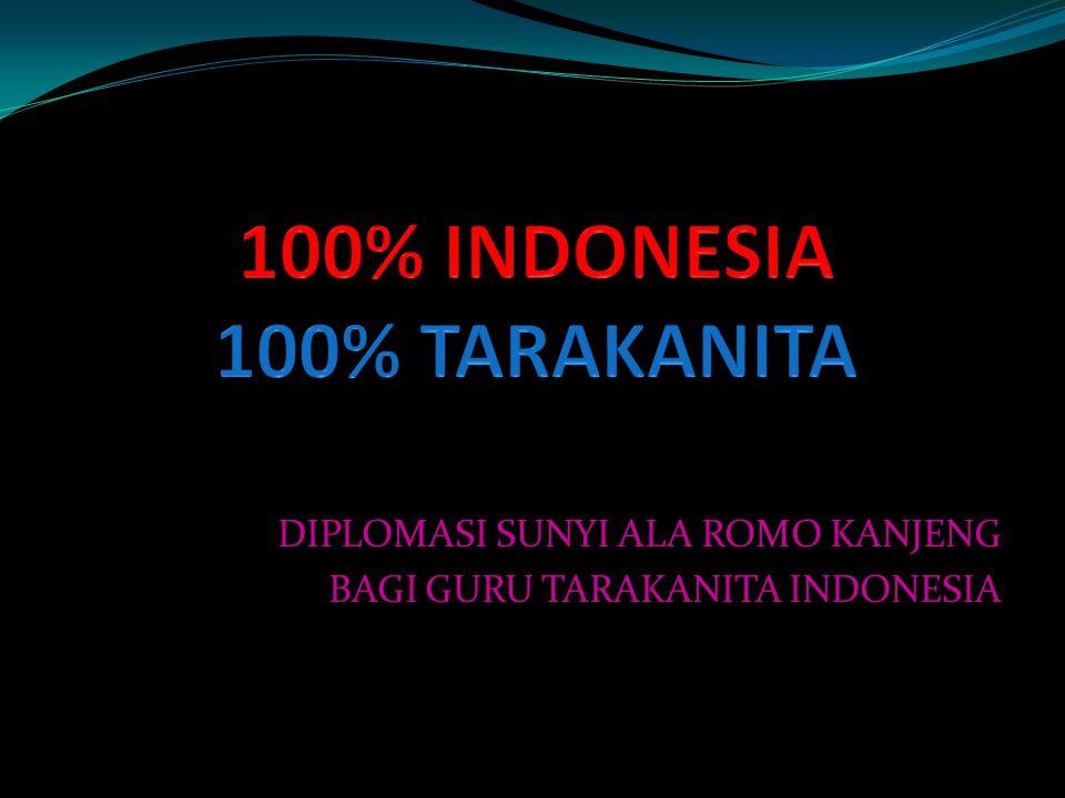 DIPLOMASI SUNYI ALA ROMO KANJENG BAGI GURU TARAKANITA INDONESIA