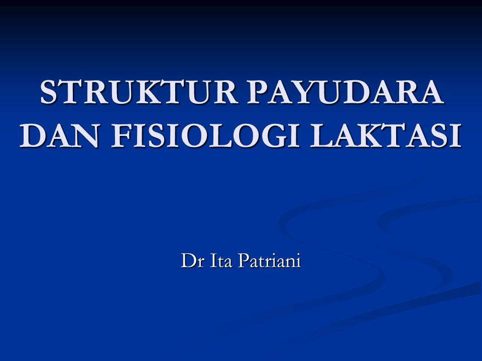 STRUKTUR PAYUDARA DAN FISIOLOGI LAKTASI Dr Ita Patriani